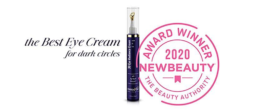 dermatologist-recommended-skin-care-brand-defenage-wins-award-for-innovative-eye-creamTo treat the delicate skin under your eyes with great care, choose an eye cream that contains age-correcting ingredients with proven results. The award-winning DefenAge