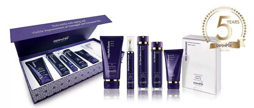 Celebrate Award-Winning Skin Care Brand DefenAge's 5-Year Anniversary with a Luxe Kit